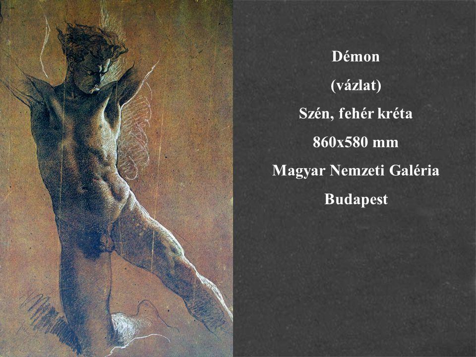 A leányvári boszorkány 1880 Zichy Géza művének illusztrációja Eredetije ismeretlen helyen