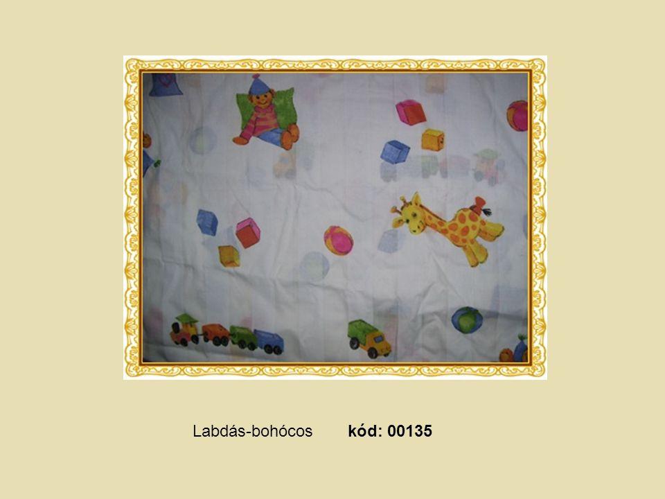 Sárga alapszínű, bocis, kód: 00129