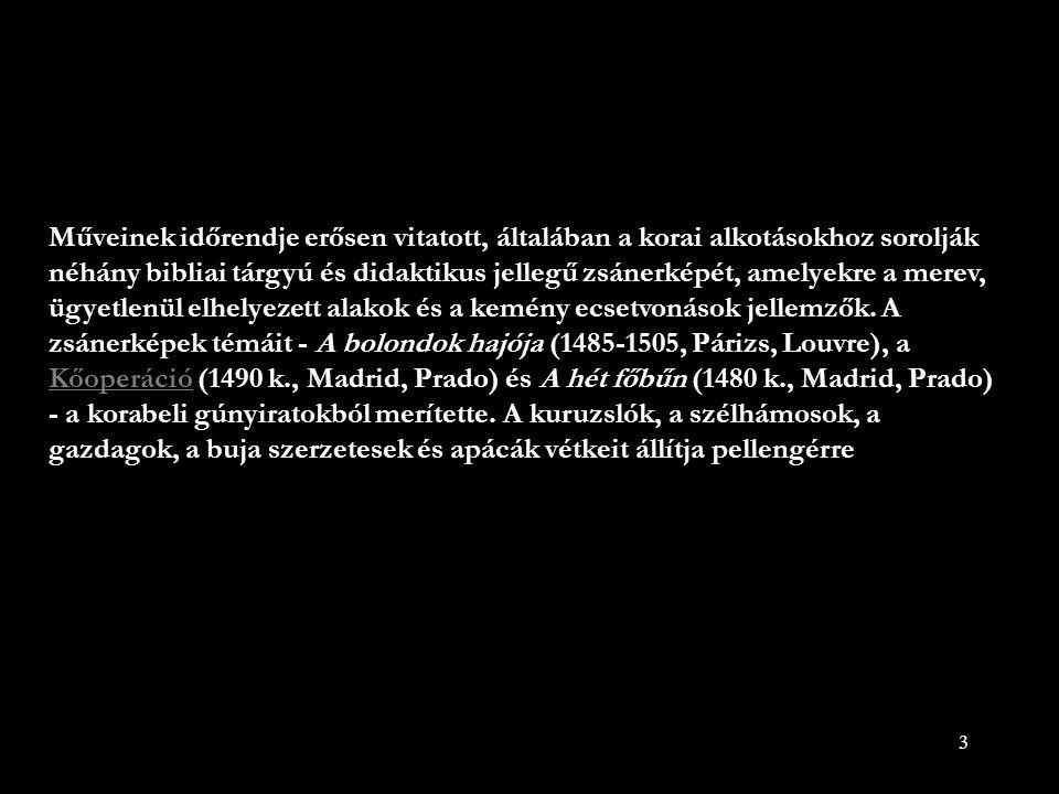 14 Keresztvitel olaj, fa 150 x 94 cm Palacio Real de Madrid, Madrid
