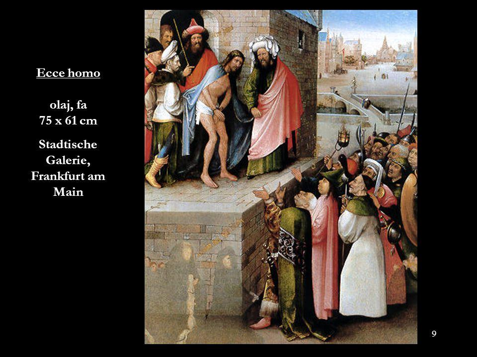 40 Szent Antal megkísértése Triptychon, olaj, fa, 130,5 x 225 cm Museo Nacional de Arte Antigna, Lisszabon