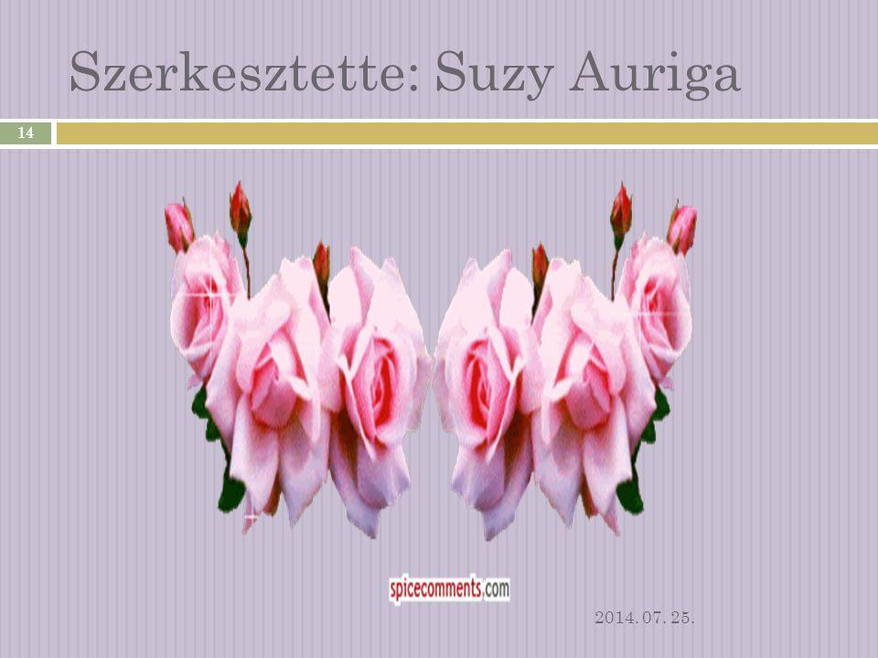 Zene: Suzy Auriga: - This is my way 2014. 07. 25. 13