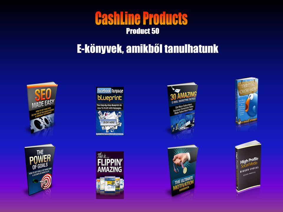 Product 50 E-könyvek, amikből tanulhatunk