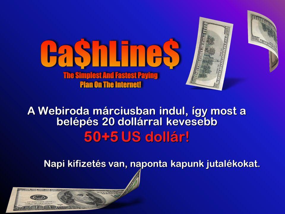 A Webiroda márciusban indul, így most a belépés 20 dollárral kevesebb 50+5 US dollár.
