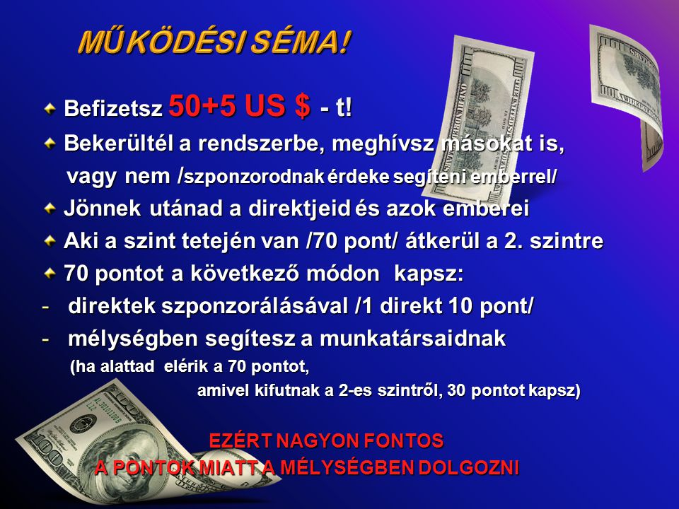 Befizetsz 50+5 US $ - t. Befizetsz 50+5 US $ - t.
