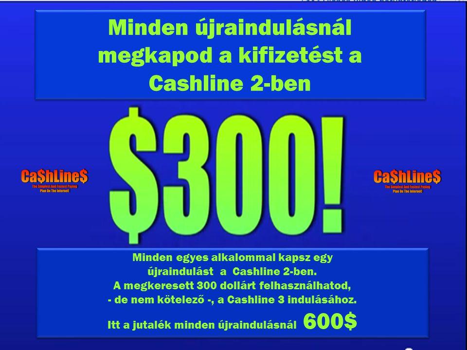 Minden újraindulásnál megkapod a kifizetést a Cashline 2-ben Minden újraindulásnál megkapod a kifizetést a Cashline 2-ben Minden egyes alkalommal kapsz egy újraindulást a Cashline 2-ben.