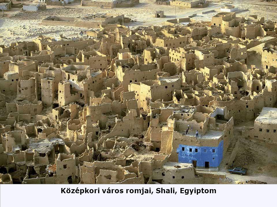 Középkori város romjai, Shali, Egyiptom