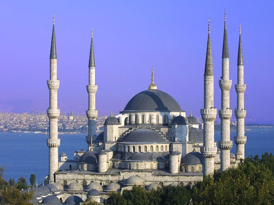 …közel a Kék Mecset-hez…