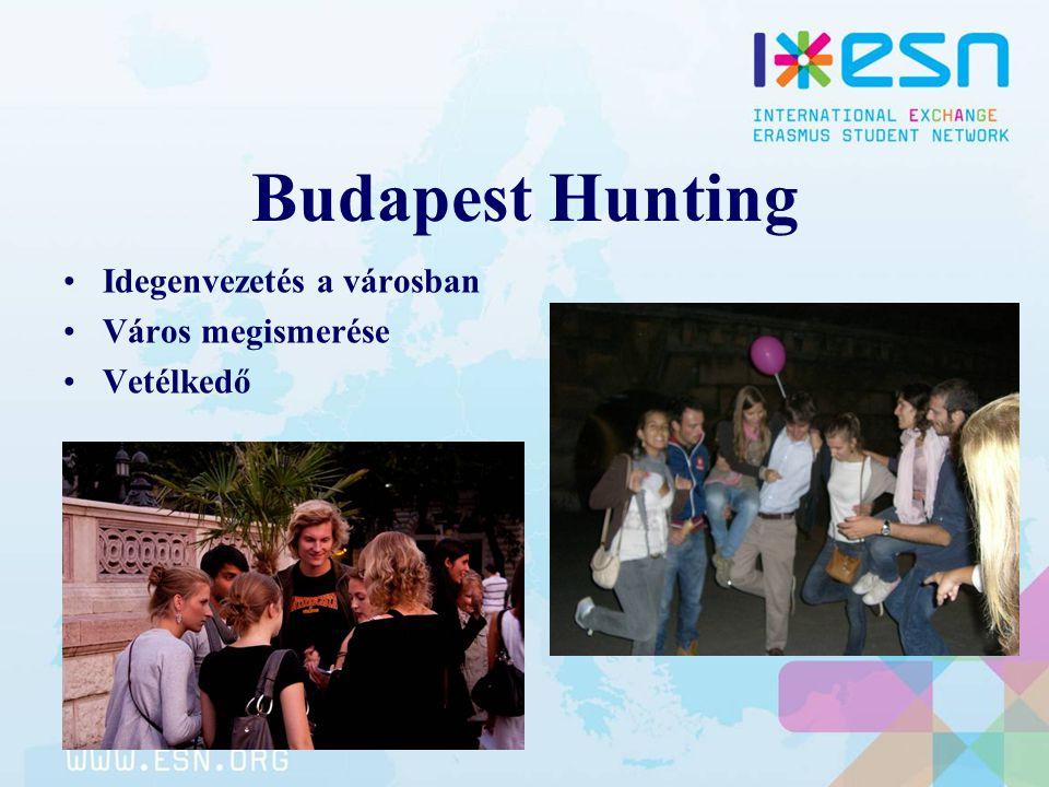 Budapest Hunting Idegenvezetés a városban Város megismerése Vetélkedő