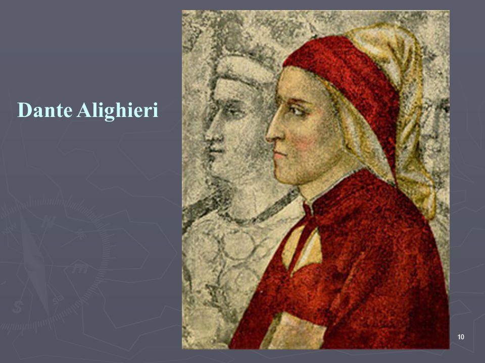 10 Dante Alighieri