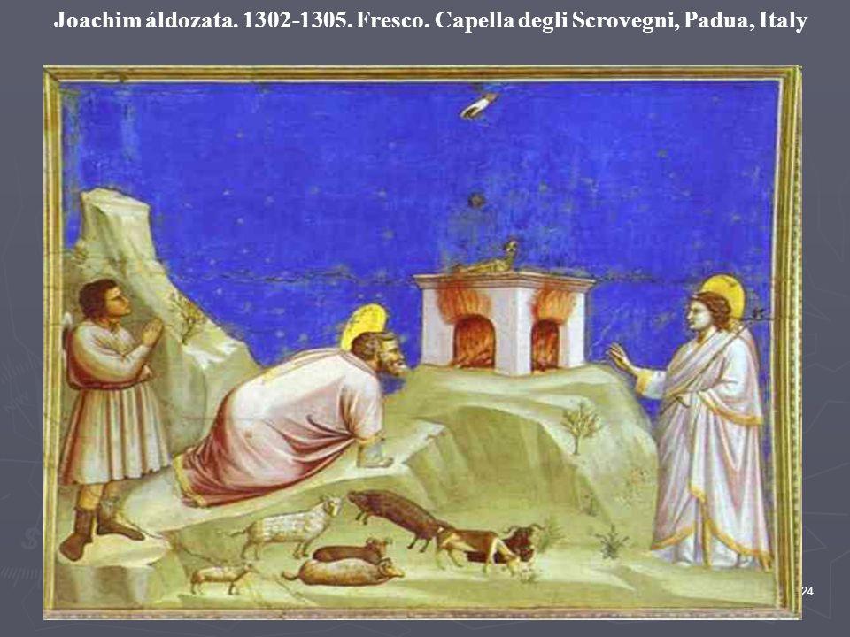 24 Joachim áldozata. 1302-1305. Fresco. Capella degli Scrovegni, Padua, Italy