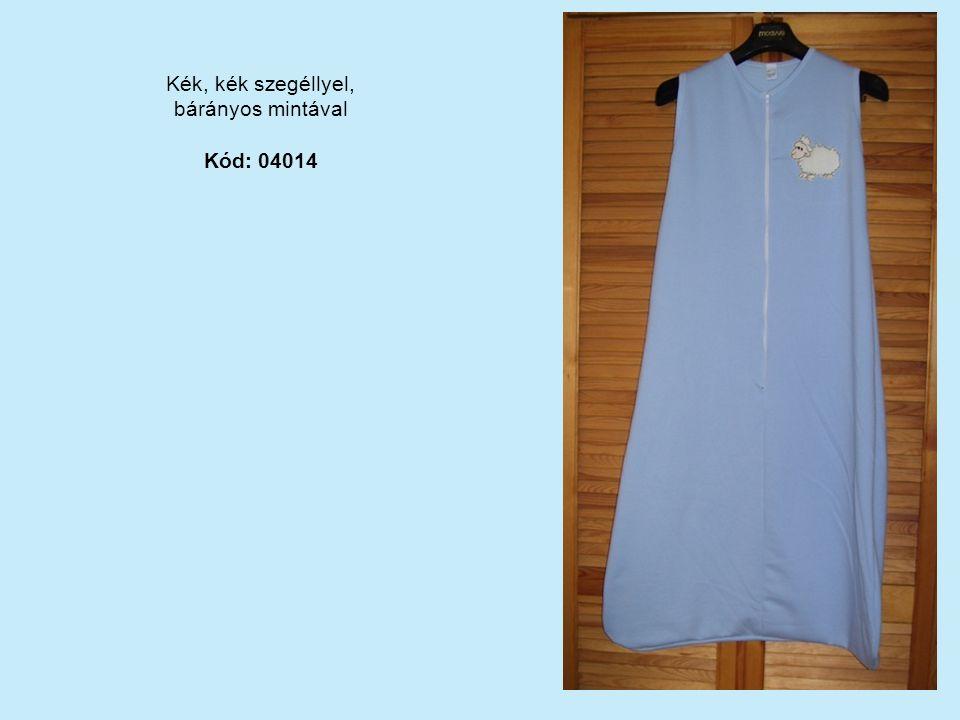 Kék, kék szegéllyel, bárányos mintával Kód: 04014