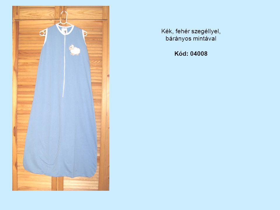 Kék, fehér szegéllyel, bárányos mintával Kód: 04008