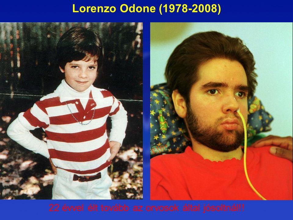 Lorenzo Odone (1978-2008) 22 évvel élt tovább az orvosok által jósoltnál!!