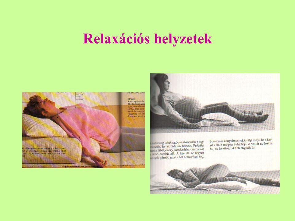 Relaxációs helyzetek