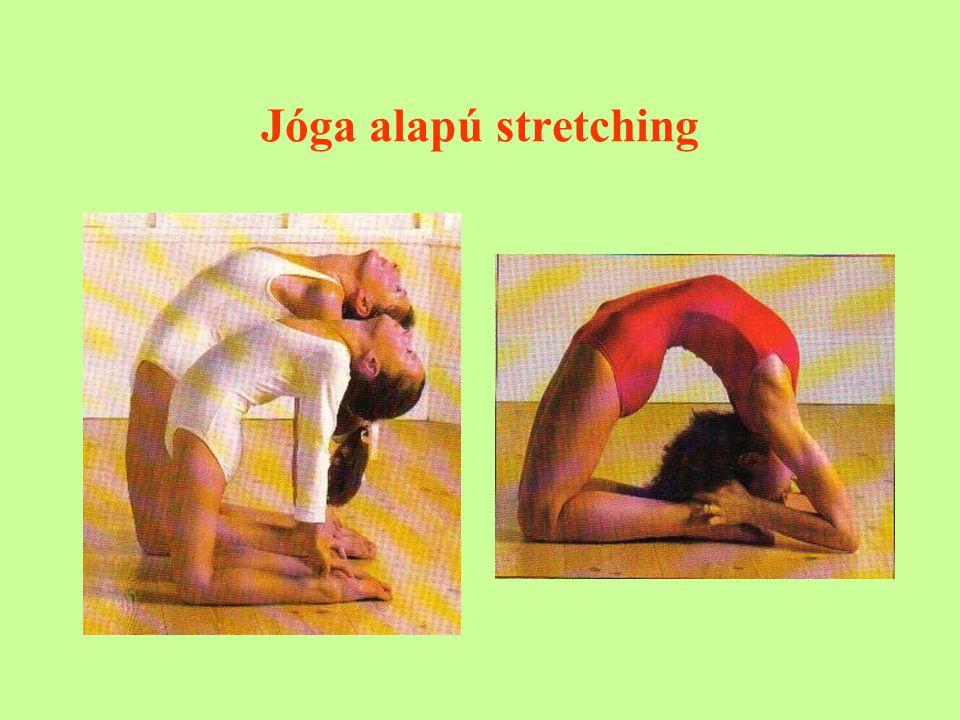 Jóga alapú stretching