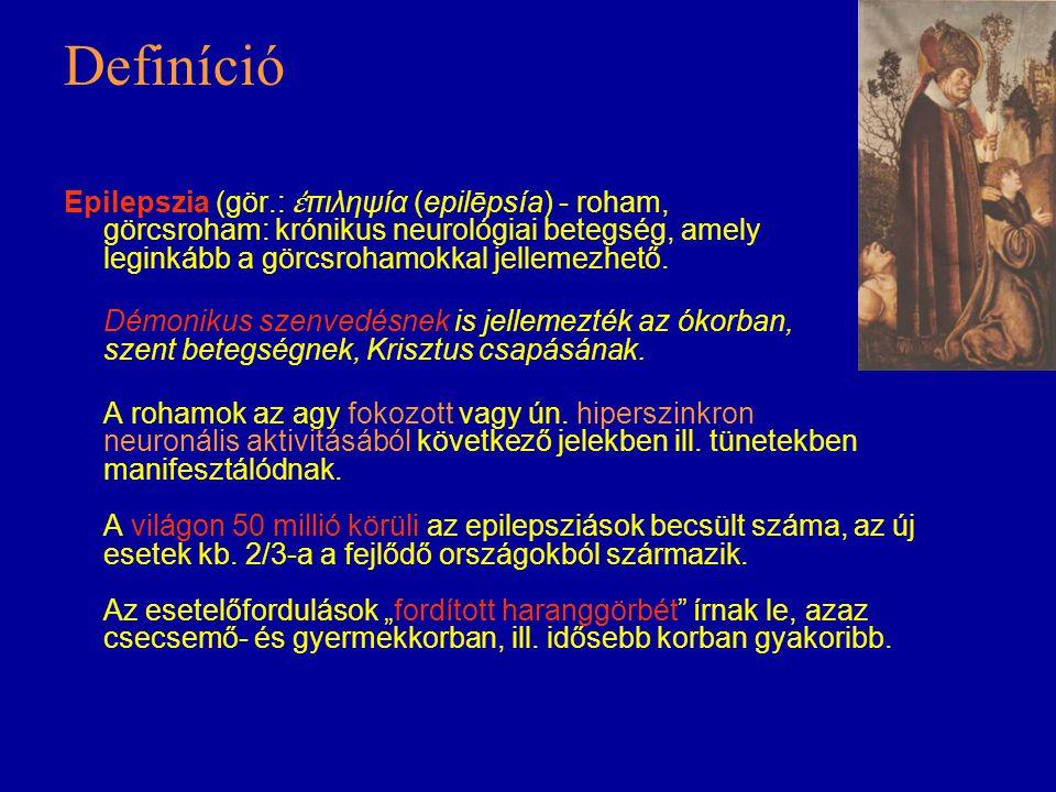 Irodalmi források Rajna Péter: Epilepszia, családorvosok és klinikai társszakmák számára, Springer, 1996.
