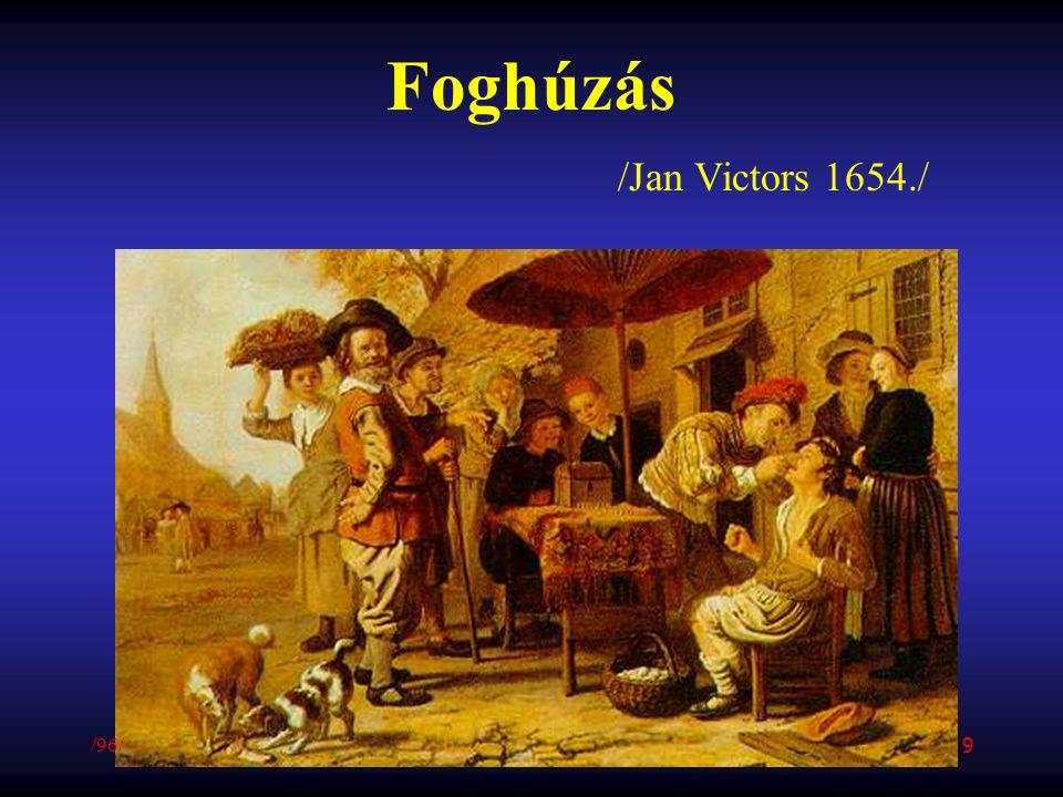 Foghúzás /Jan Victors 1654./ /96/ 9