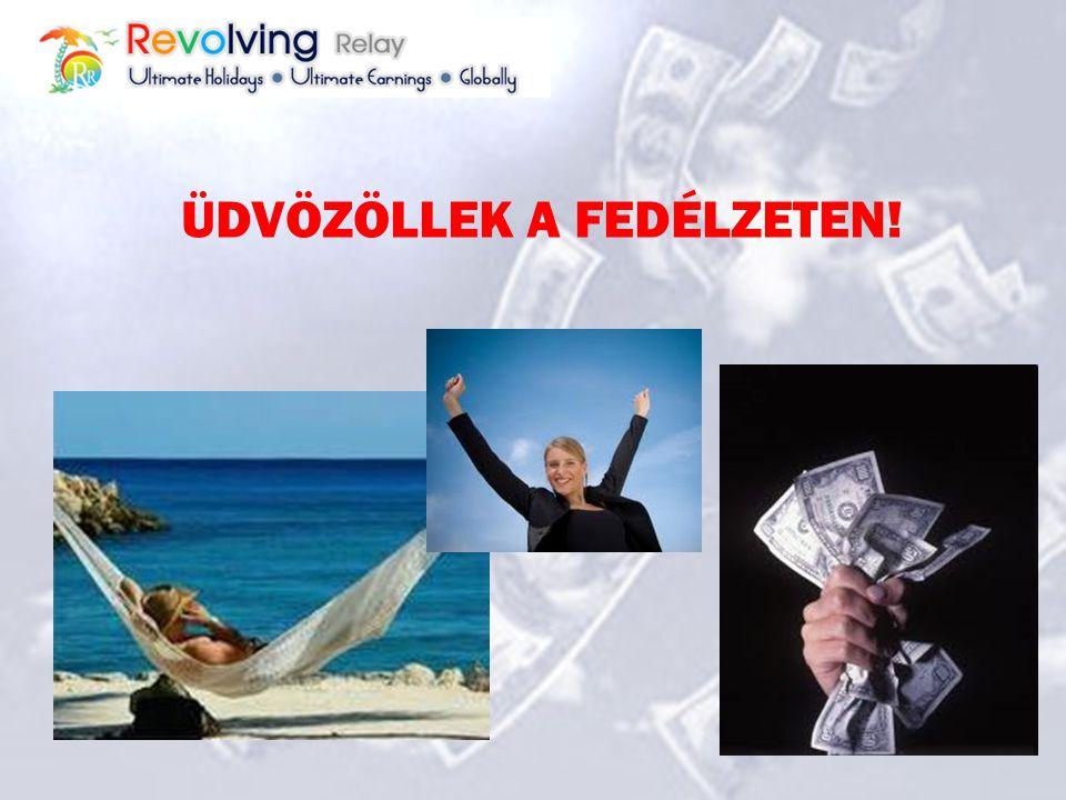 Készen állsz hogy... Beutazd a világot Saját időbeosztásban dolgozz Korlátlan jövedelmed legyen Több pénzt keress kevesebb emberrel Az elsők közt legy