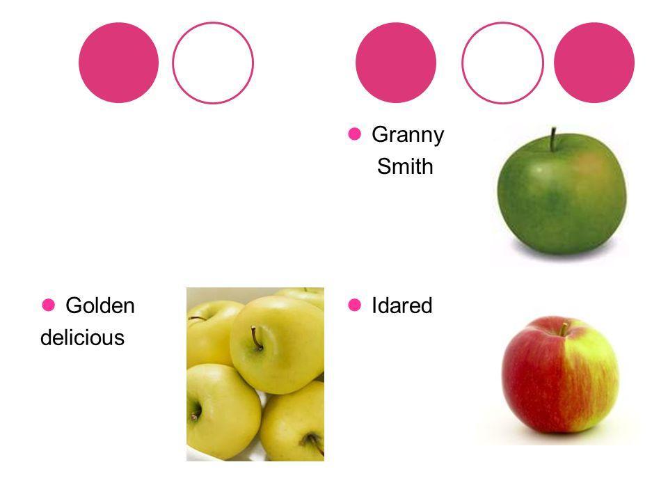 Granny Smith Golden delicious Idared