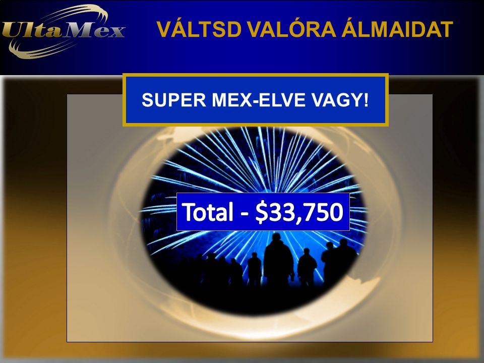 VÁLTSD VALÓRA ÁLMAIDAT SUPER MEX-ELVE VAGY!