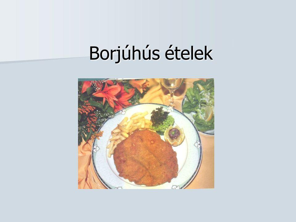 Borjúhús ételek