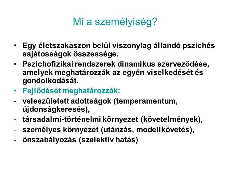 Személyiségelméletek 1.