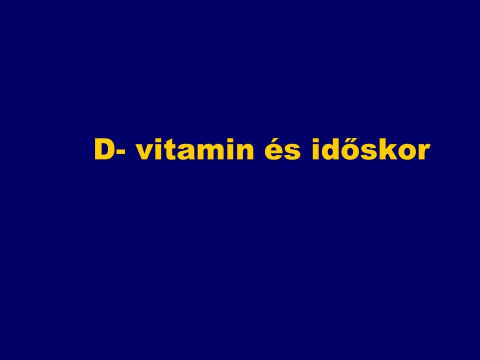 D- vitamin és időskor