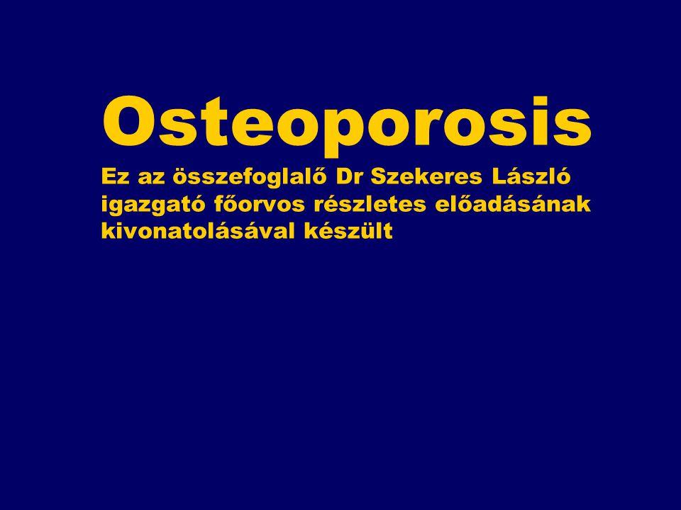 Mi az osteoporosis.