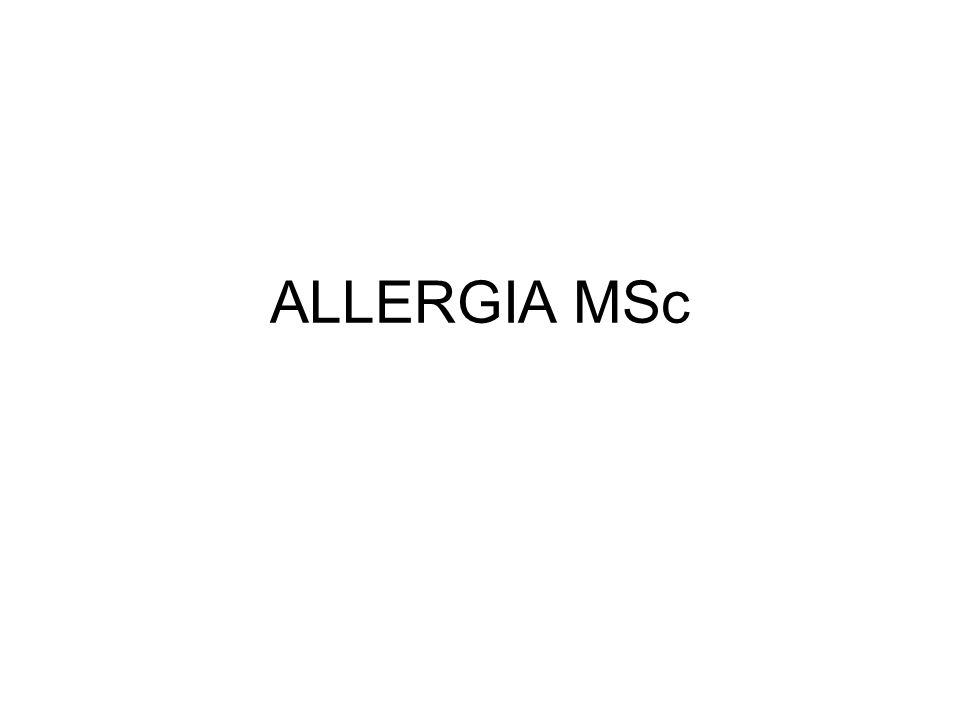 ALLERGIA MSc