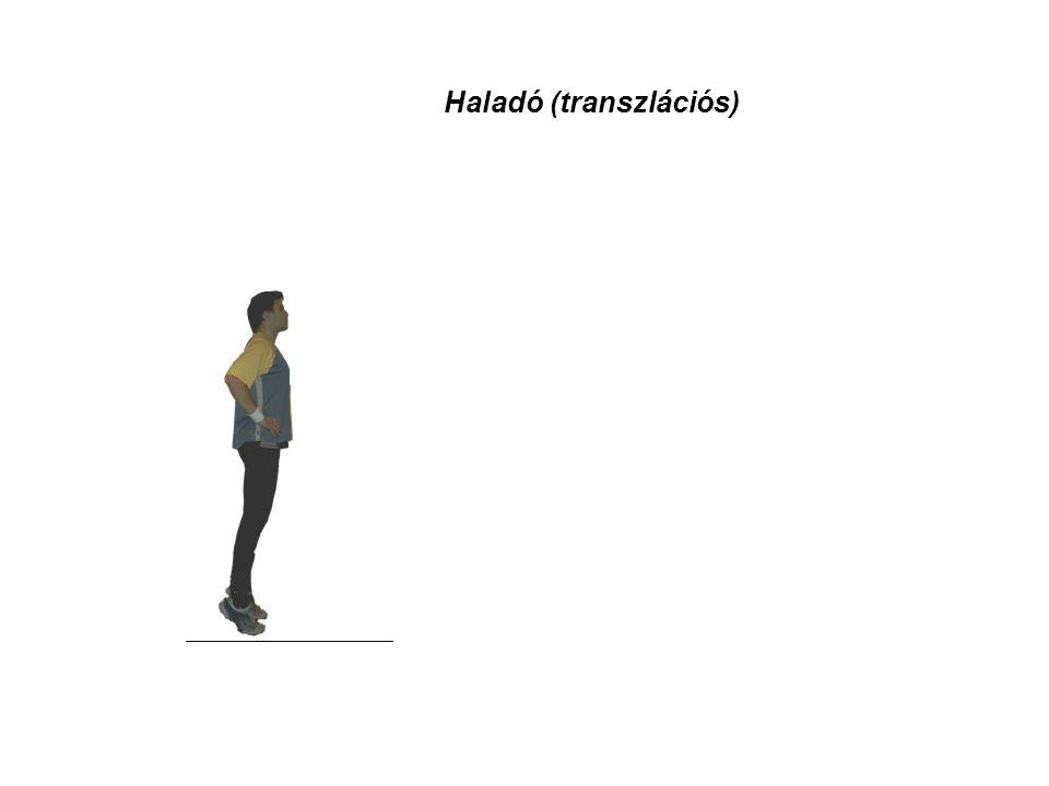 Kiterjedt test mozgása