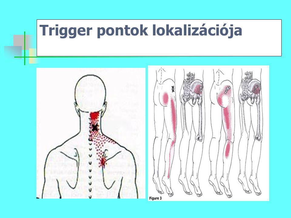 Trigger pontok lokalizációja