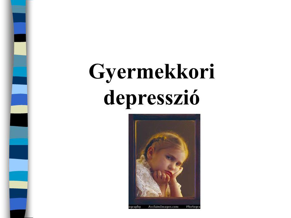Gyermekkori depresszió