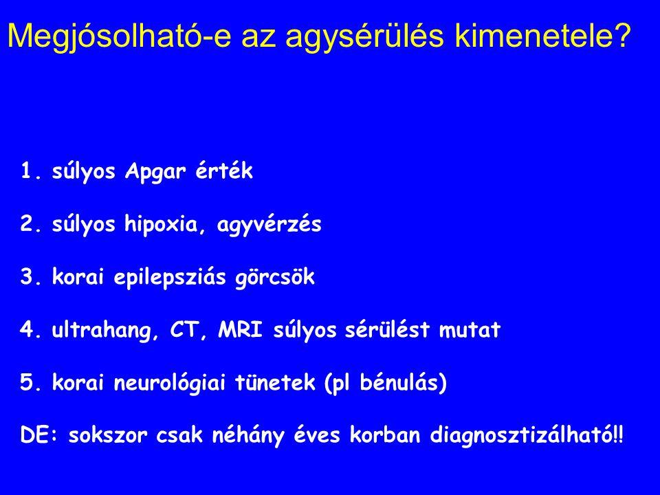Pszicho-organikus szindróma tünetei 1.A figyelem összpontosításának zavara 2.Teljesítményzavarok, gyors elfáradás 3. Hypermotilitás 4. A motoros koord