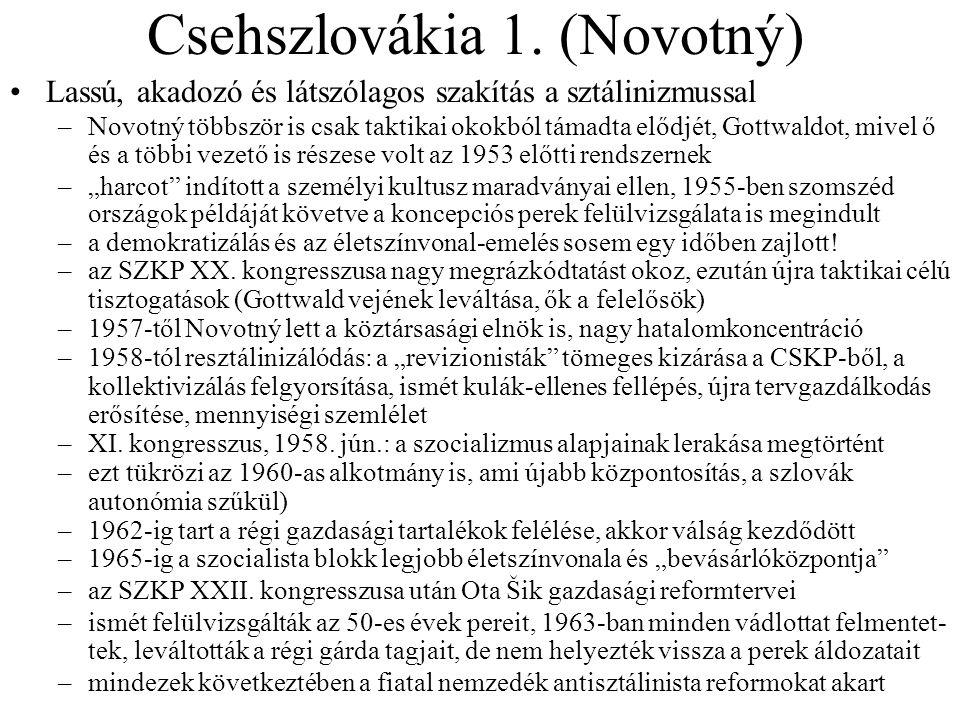 Csehszlovákia 1.