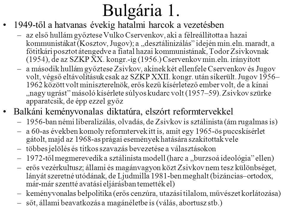 Bulgária 1.