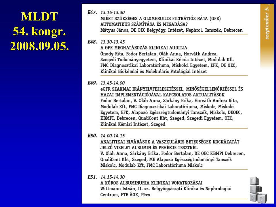 MLDT 54. kongr. 2008.09.05.
