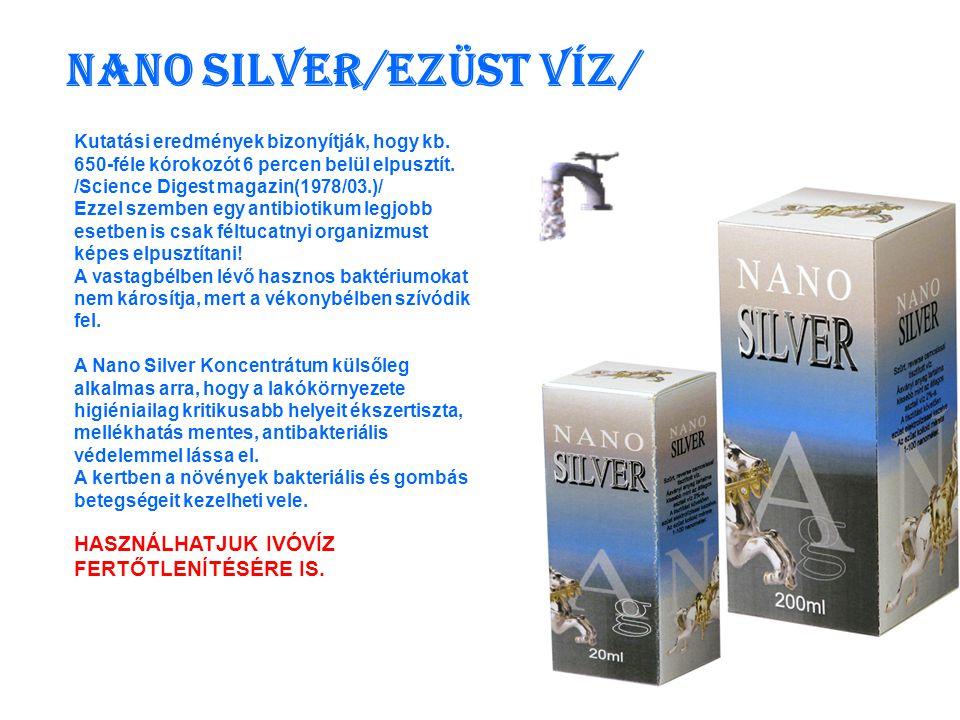Nano Silver RUSTIC Kutatásokkal bizonyították, hogy a frissen reszelt torma baktérium és vírusölő hatású.