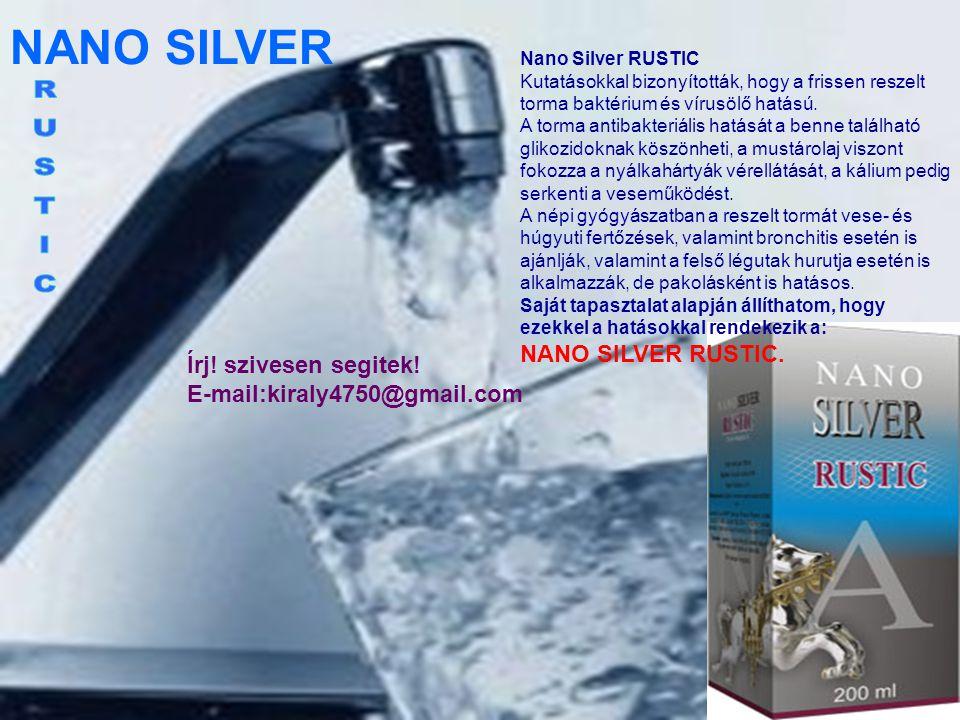 NANO SILVER 84M A 84M egy természetes tengervíz koncentrátum, amely több mint 84 féle ásványi anyagot, és nyomelemet tartalmaz.