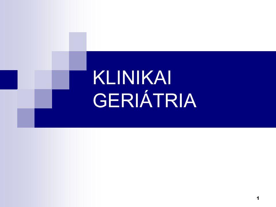 1 KLINIKAI GERIÁTRIA