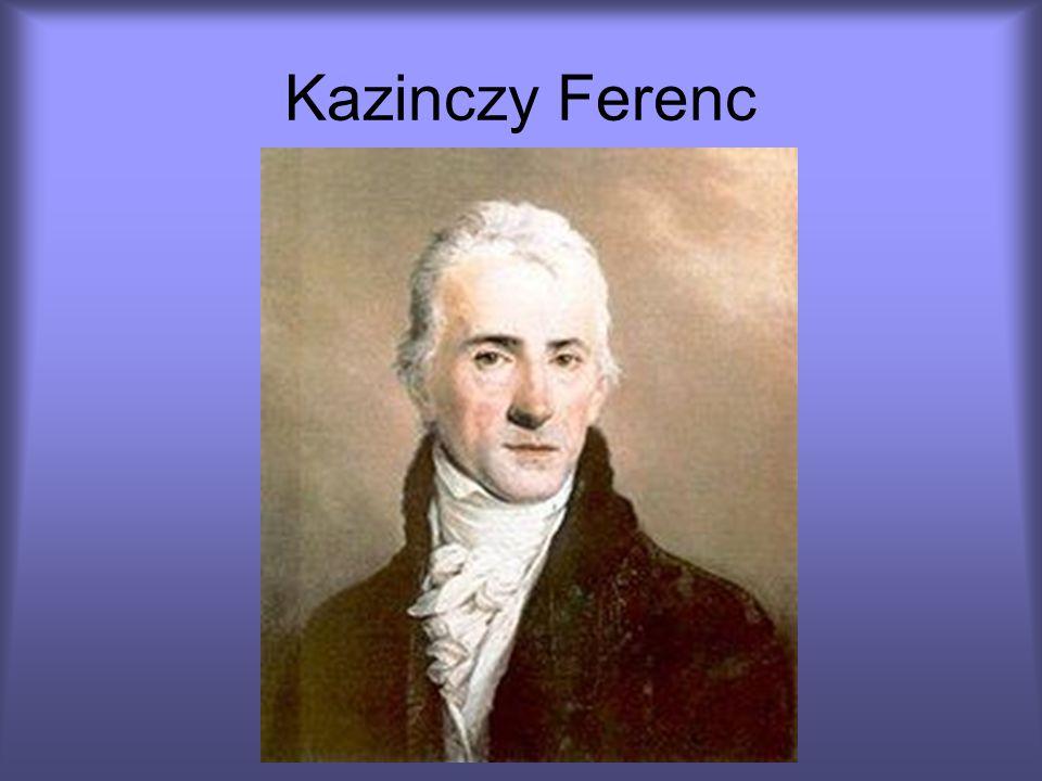 Élete Kazinczy Ferenc régi nemesi családból származott, Kazinczy József, Abaúj megyei táblabíró és Bossányi Zsuzsanna fia volt.