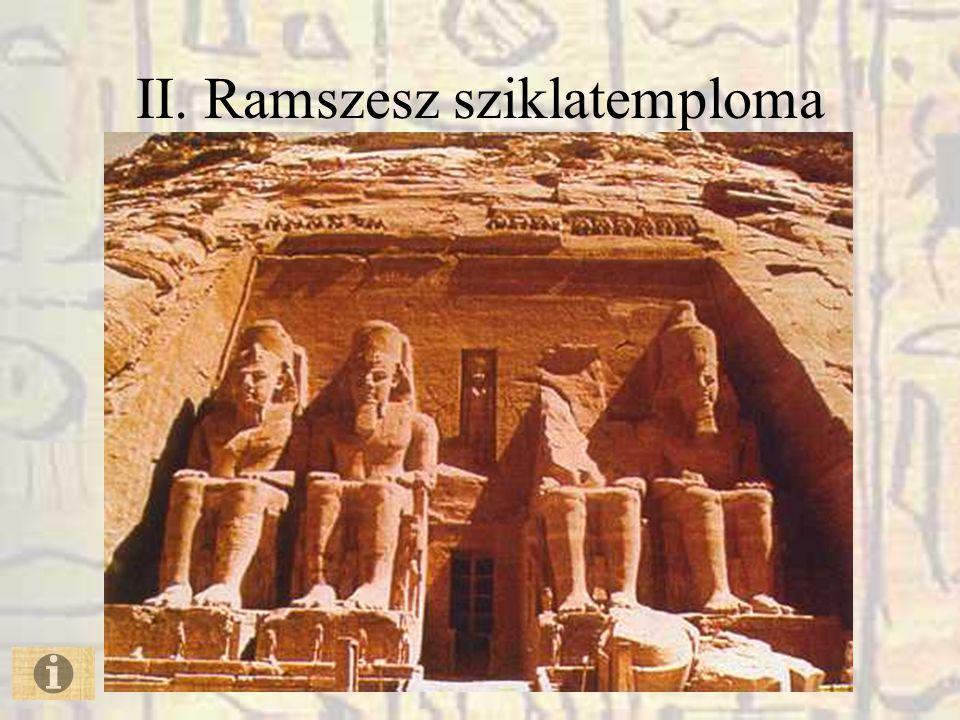 II. Ramszesz sziklatemploma