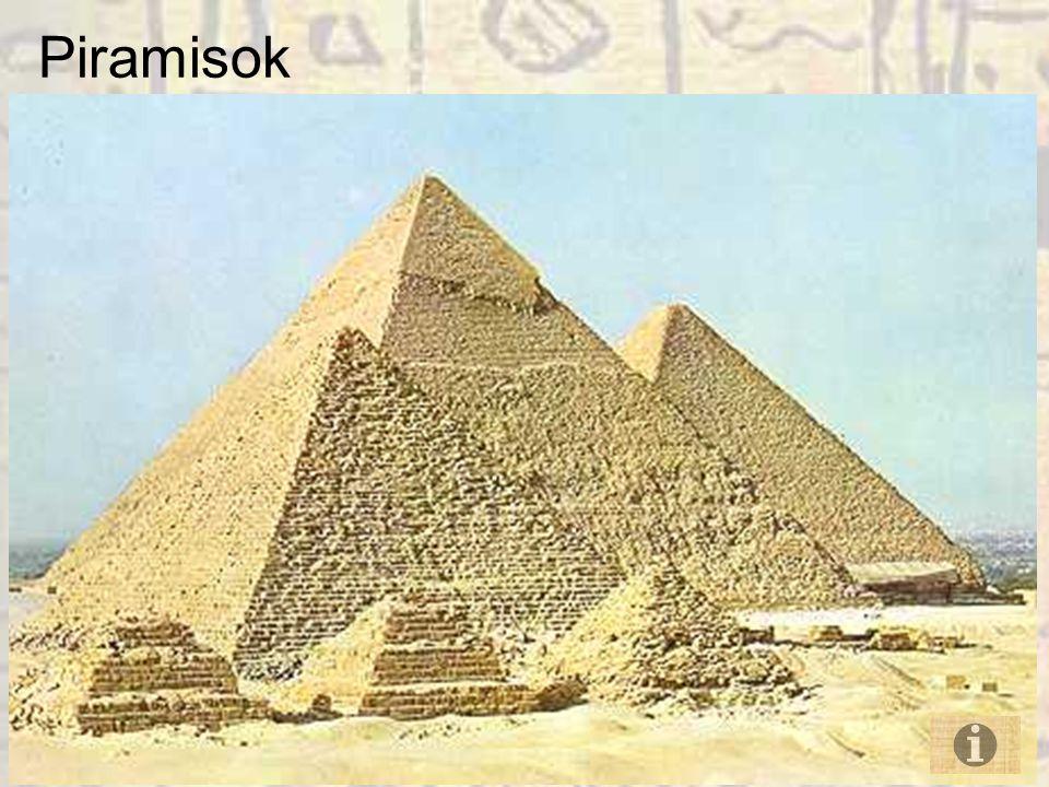 Milyen céllal építették a piramisokat.