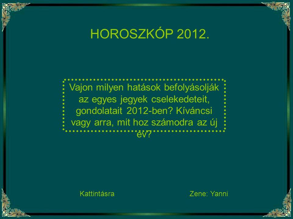 HOROSZKÓP 2012.
