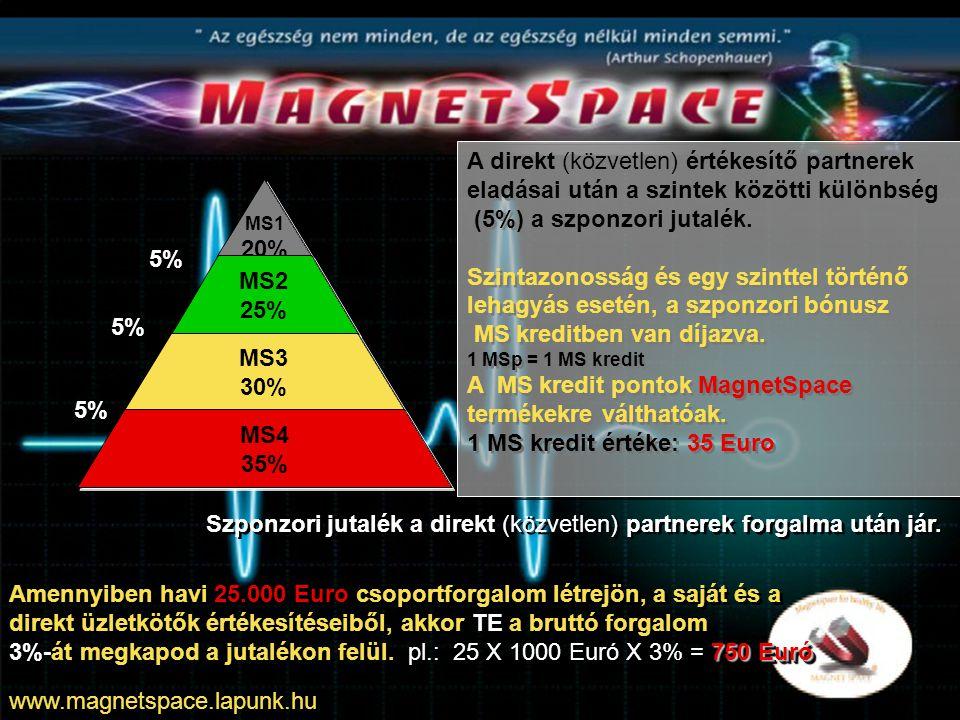 TE TE MS2 SE – 4p MS1 CSE – 2p MS1 CSE – 3p MS1 CSE – 4p Elszámolás: SE MS2-es 4 x 1000 x 25% = 1.000 Euro CSE MS1-es 9 x 1000 x 5% = 450 Euro 1.450 Euro Össz.