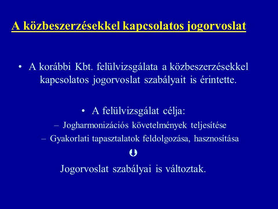 A jogorvoslati eljárásokkal kapcsolatos gyakorlati tapasztalatok Jogorvoslati eljárások számának alakulása: 2001.