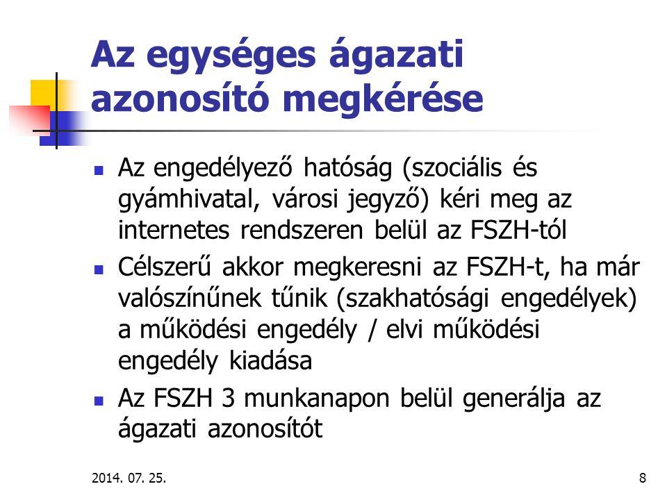 2014.07. 25.9 A regiszter-használat lépései I. 1.