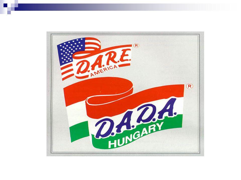 Bűnmegelőzési programlehetőségek D.A.D.A.program  Országosan 1992-ben vezették be.