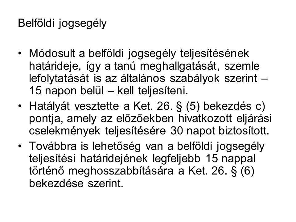 Közreműködő hatóság A Ket.38/A.