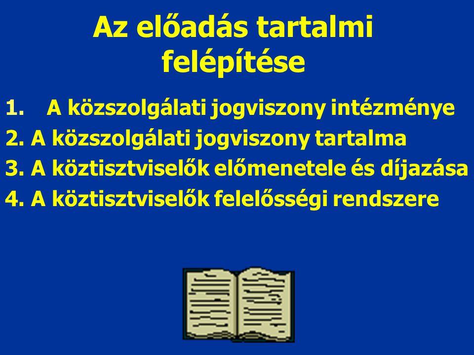 2.2.A köztisztviselők jogai munkavégzéssel kapcsolatos általános jogok (Mt.