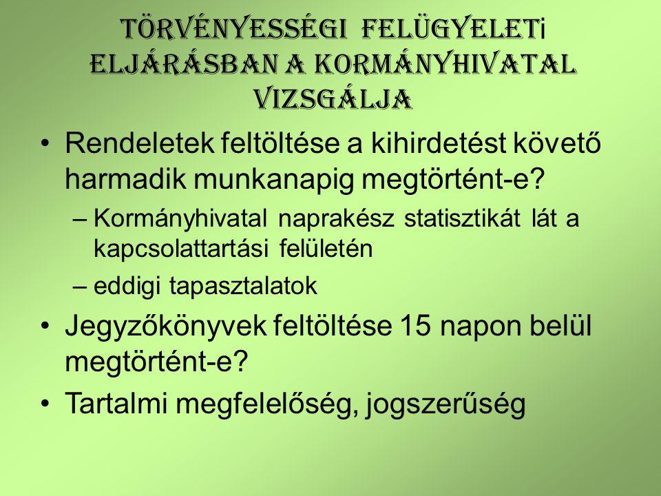 119/2012.(VI.26.) Korm. rend. 5.§ (1) – (2) Az NJT-ben kötelezően feltöltendő: Alaptörvény 32.